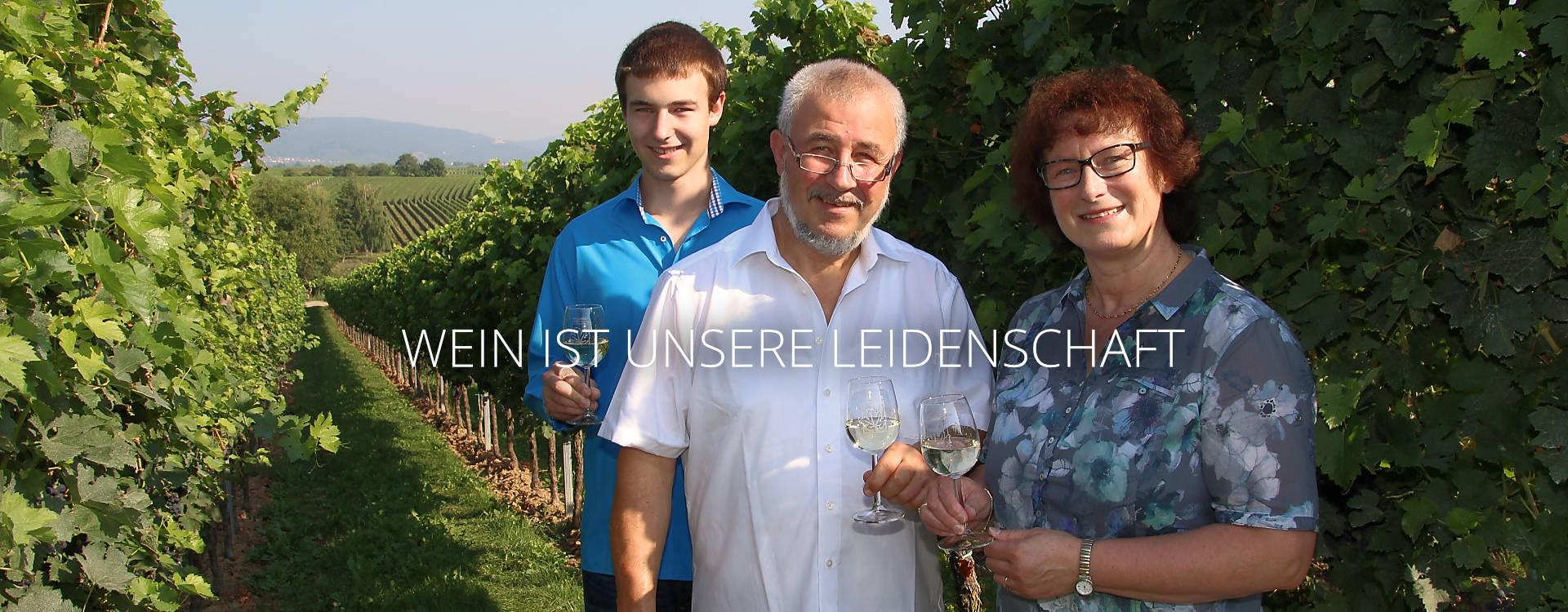 Winzerfamilie Roth aus Roschbach im Weinberg