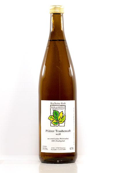 Der Traubensaft ist der Wein für Kinder.