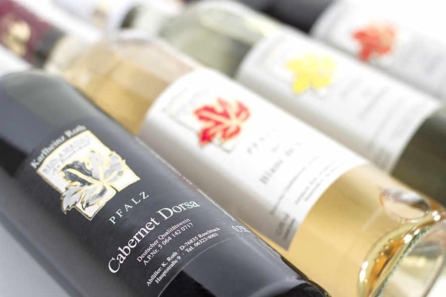 Die Rotweinsorte Cabernet Dorsa.